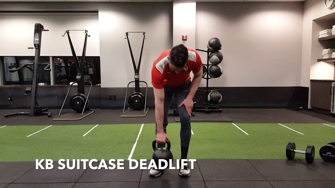 KB SUITCASE DEADLIFT