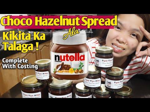 choco-hazelnut-spread-pangnegosyo-recipe-kikita-ka-talaga!-complete-with-costing