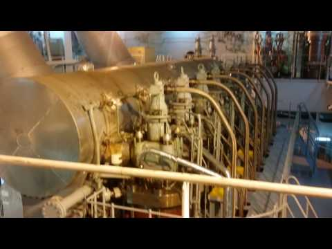 INSIDE THE ENGINE ROOM | Q-MAX LNG TANKER E/R AND ENGINE CONTROL ROOM ( ECR ) TOUR  LIFE AT SEA