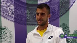Wimbledon 2019.   Laslo Đere Nakon Pobede protiv Andreocija   SPORT KLUB Tenis