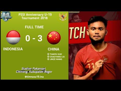 FT :Indonesia 19 0 - 3 China U 19•2018/09/25