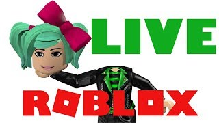 Roblox LIVE Breakfast with SallyGreenGamer FOLLOW SPREE Looking at your Roblox profiles!