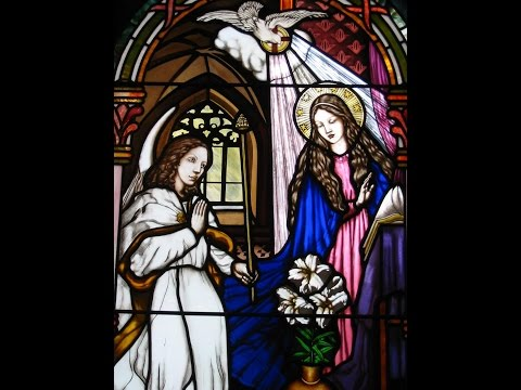 Stained Glass Rosary 15 decade