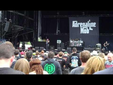Adrenaline Mob - Indifferent at Graspop Metal Meeting 2012 [HD]