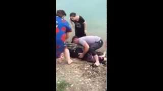 Девушка утонула в Чечне-girl drowned