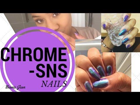 Chrome/SNS Nails?