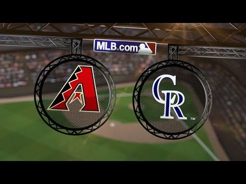 6/5/14: D-backs ride homers to first sweep of season
