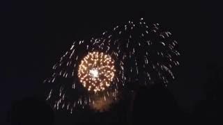 Fireworks- Stone Arch Bridge, Minneapolis July 4, 2016.