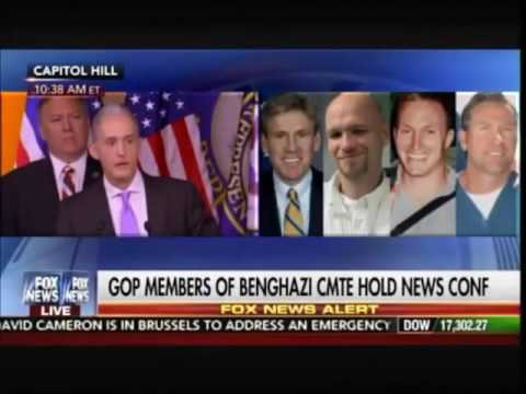 Trey Gowdy The Savage Tells Media The Truth After Clinton Benghazi Hearing