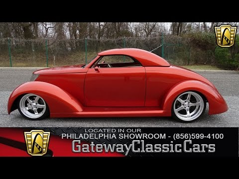 1937 Ford Roadster, Gateway Classic Cars 002- Philadelphia