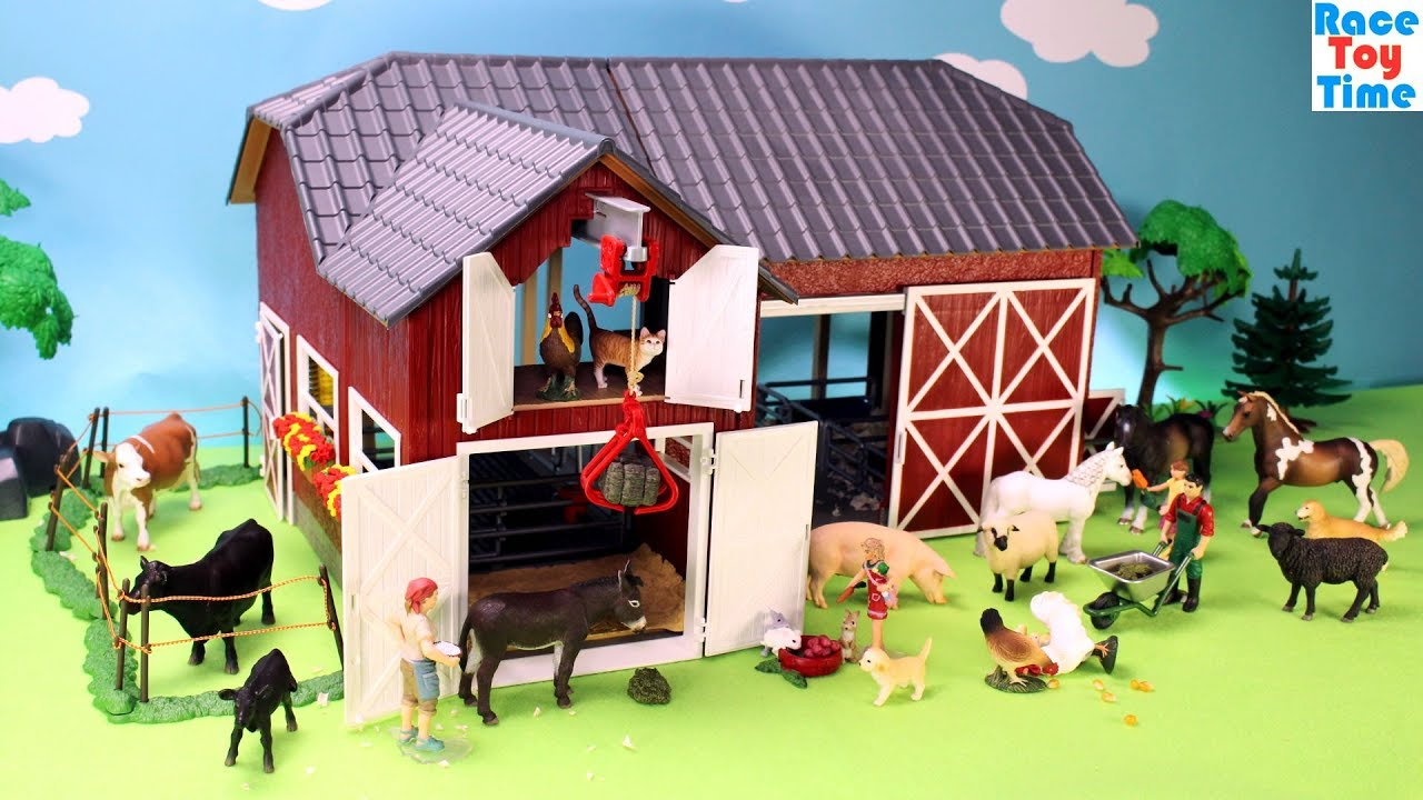 Schleich Farm World Red Barn Playset
