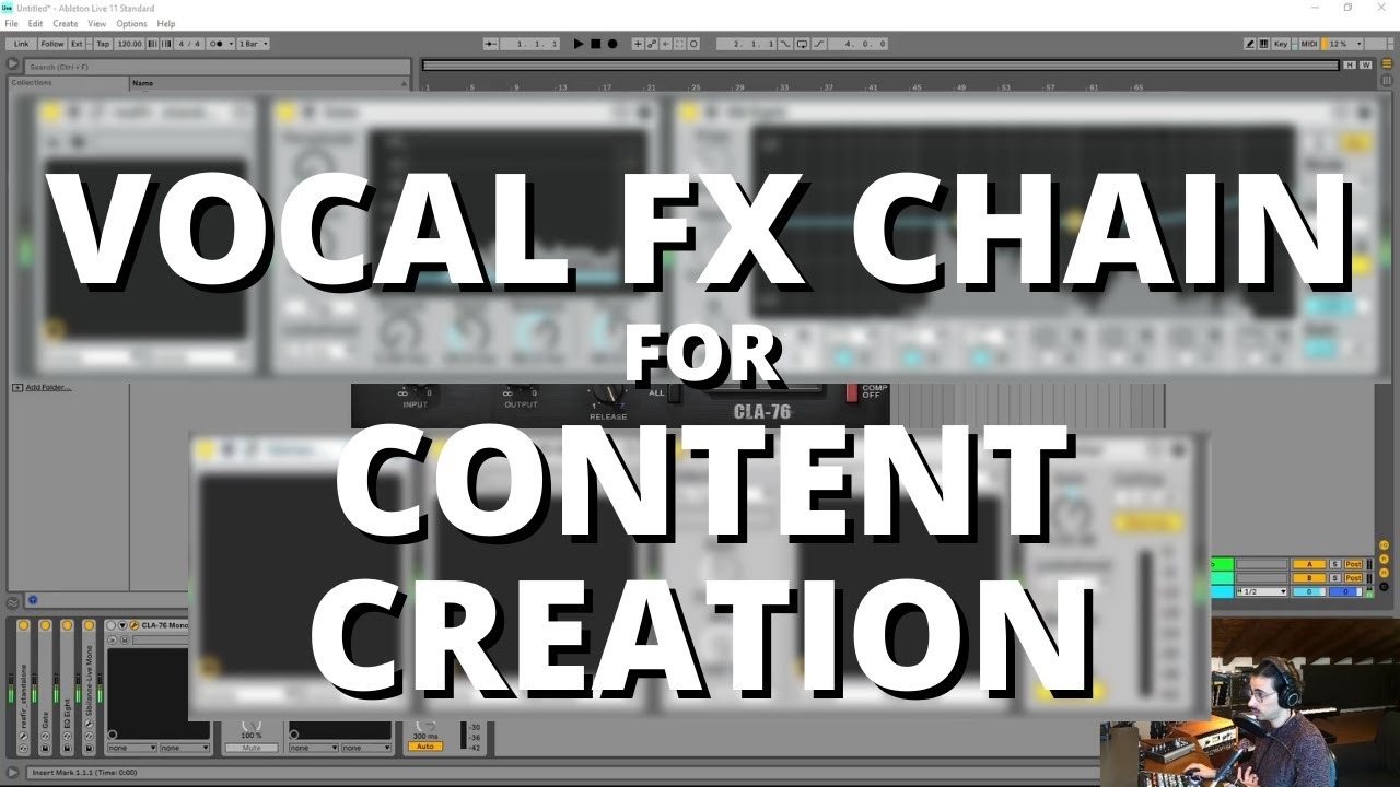 Great vocal FX chain for content creation   Ableton Live 11