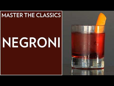 master-the-classics:-how-to-make-a-negroni