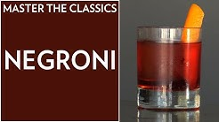 Master The Classics: How to Make a Negroni