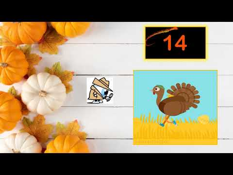 Eye Spy Thanksgiving Challenge!