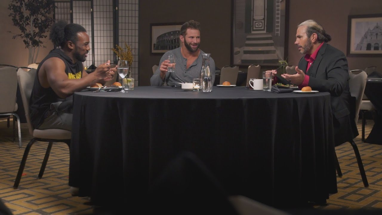 zack ryder reveals his master plan to get noticed or fired on table for 3 wwe network. Black Bedroom Furniture Sets. Home Design Ideas