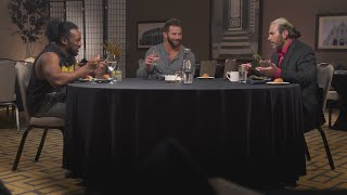 Zack Ryder reveals his master plan to get noticed ... or fired ... on Table for 3 (WWE Network)