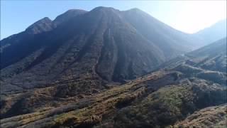 九重連山 三俣山