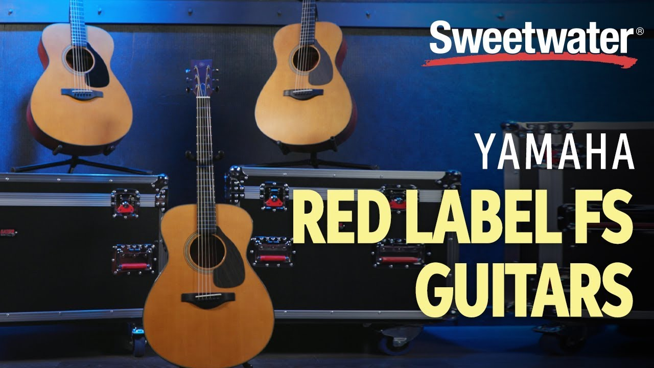 Yamaha Red Label FS Guitars Demo & Sounds with Marnée August