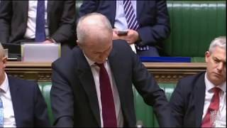 BrExit: Next Steps Motion & Proposed Amendments - David Lidington, Conservative, 27 Feb 2019