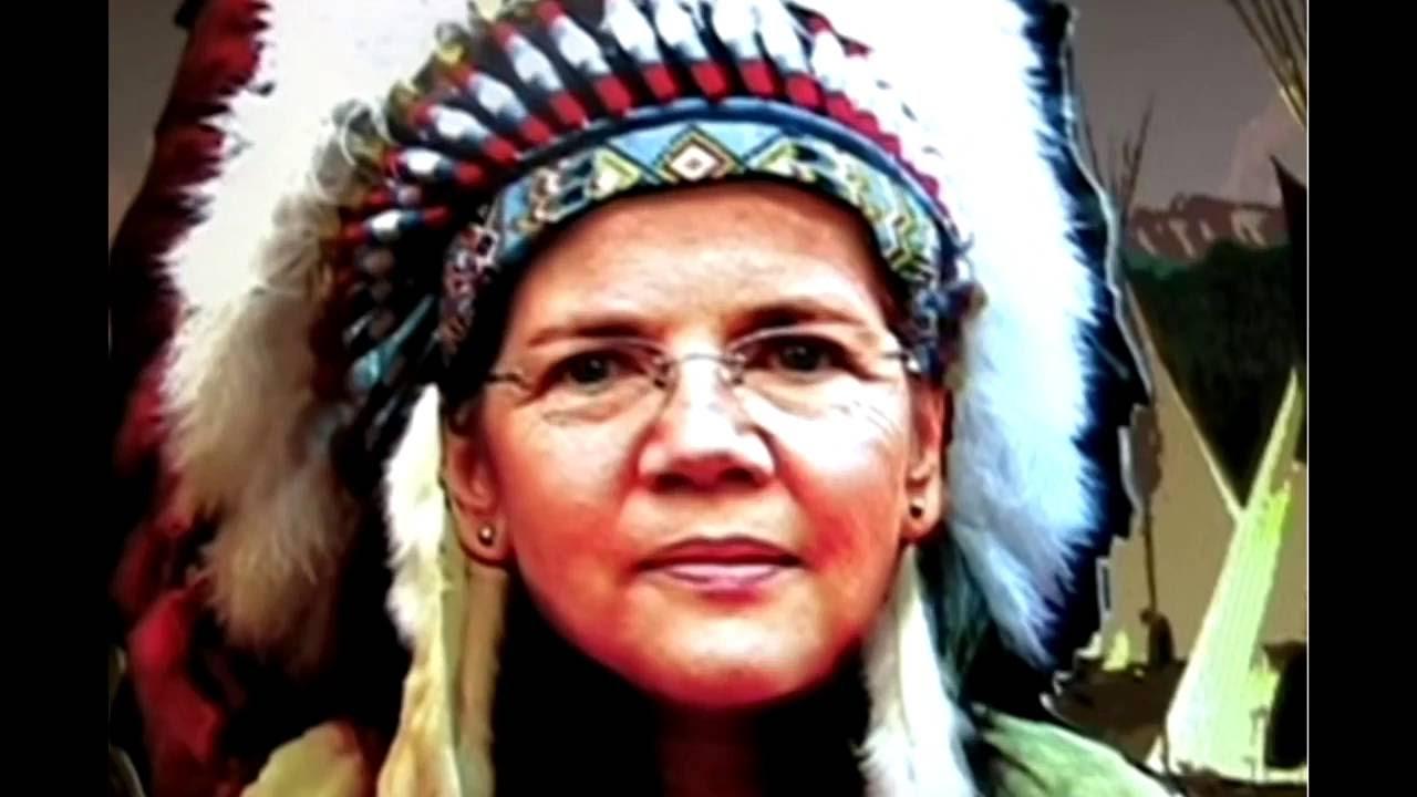 Donald Trump vs Pocahontas Elizabeth Warren - YouTube