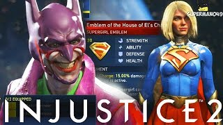 Injustice 2: Legendary And Epic Gear Showcase For All Characters! - Injustice 2 Legendary Gear