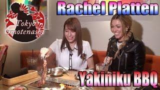 Tokyo Omotenashi Rina from AKB48 guides a world-famous singer, Rach...