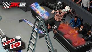 Video WWE 2K18 Top 10 Extreme F5's download MP3, 3GP, MP4, WEBM, AVI, FLV Agustus 2018