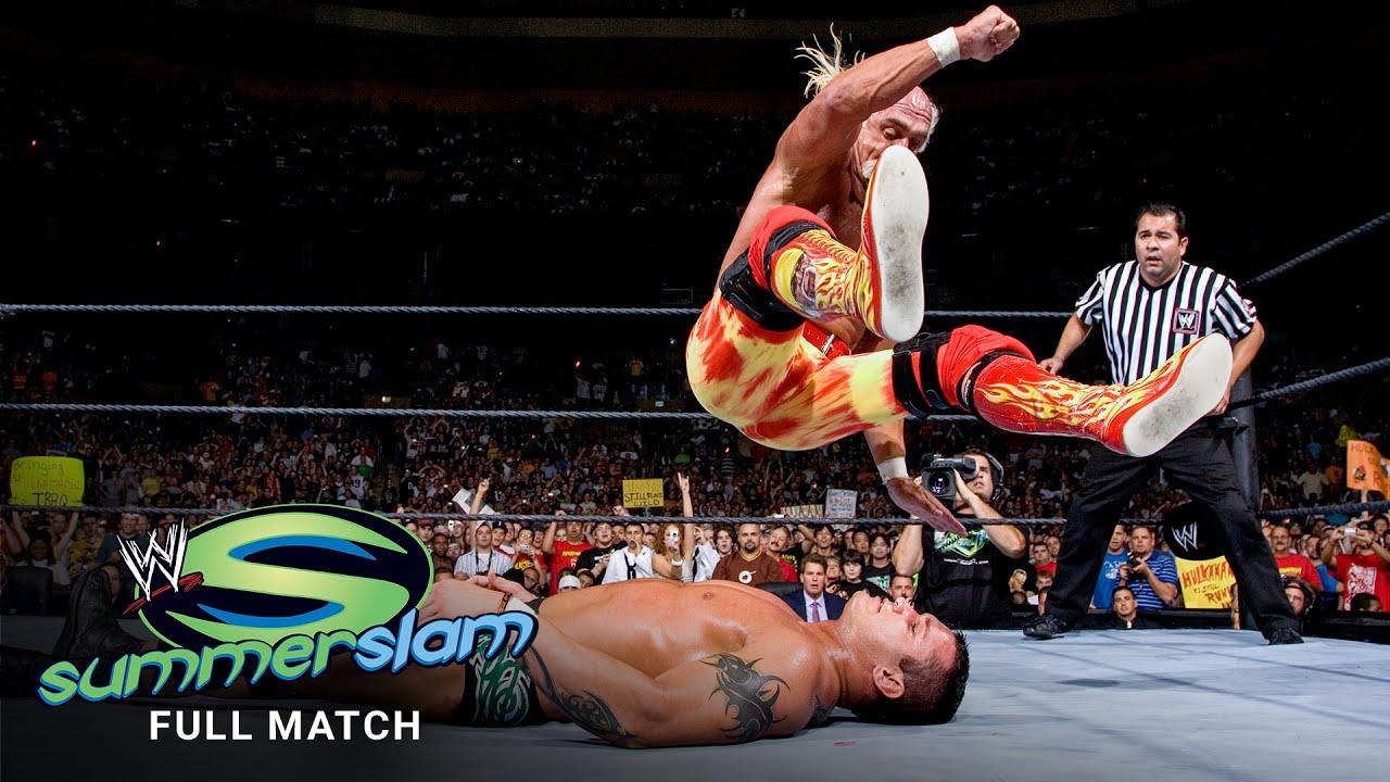 FULL MATCH: Hulk Hogan vs. Randy Orton: SummerSlam 2006