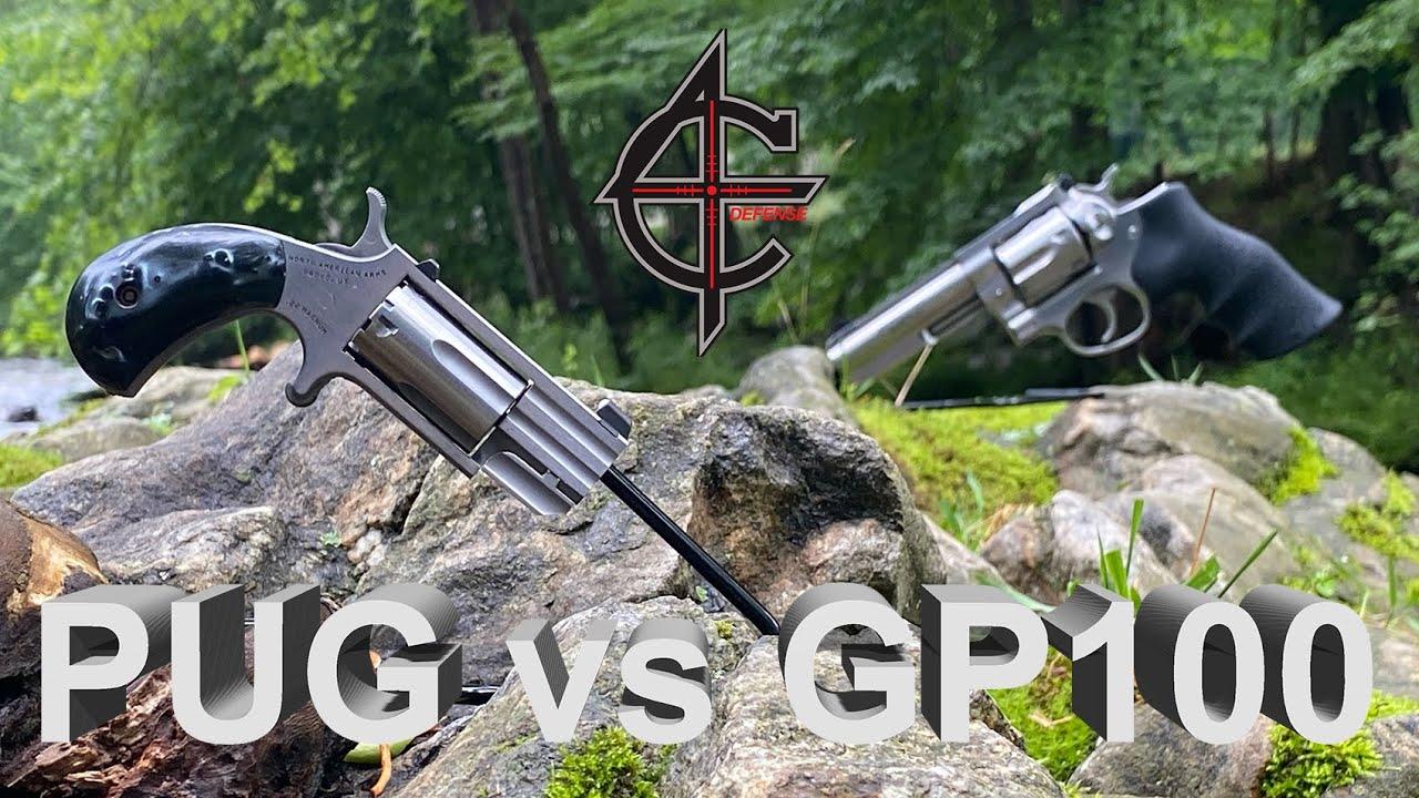 Ruger GP100 vs NAA PUG