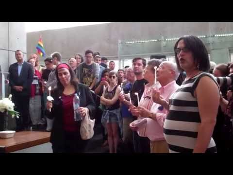 Windy City Times: Center on Halsted Orlando Vigil 6-13-2016, 1 of 2