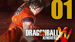 Dragon Ball XenoVerse Gameplay Walkthrough - Part 1: A New Saiyan Appears!