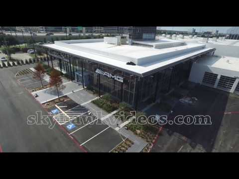 Drone - From Sams Club to Mercedes Dealership construction