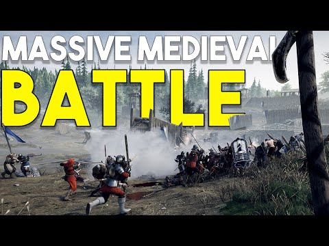 BIGGEST MEDIEVAL BATTLE! - MORDHAU EARLY GAMEPLAY