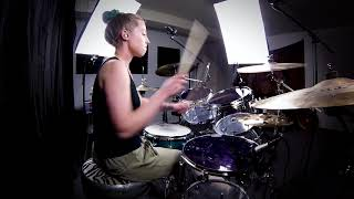 Gambar cover Lindsey Raye Ward - New Found Glory - My Friends Over You (Drum Cover) #HitRewindPT2