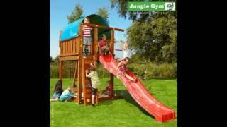 Детские городки, площадки, домики - видео обзор