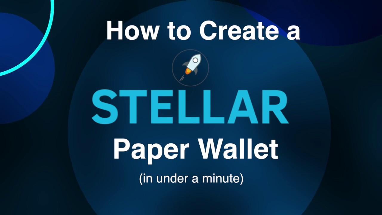 cryptocurrency wallet stellar lumens