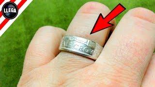 como hacer un anillo con una moneda experimentos caseros llegaexperimentos