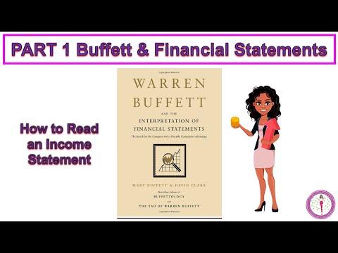 Part 1 WARREN BUFFETT AND THE INTERPRETATION OF FINANCIAL STATEMENTS   Book Summary