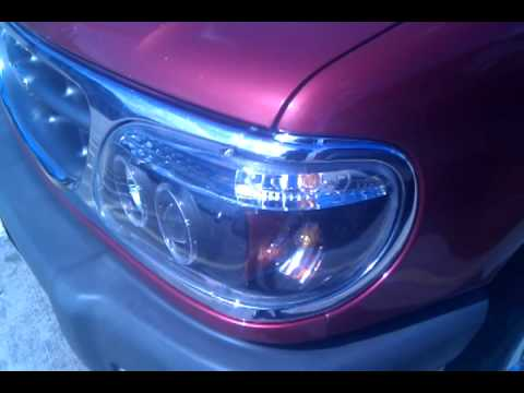 1999 Ford Explorer Halo Projector Headlights Day Time Video