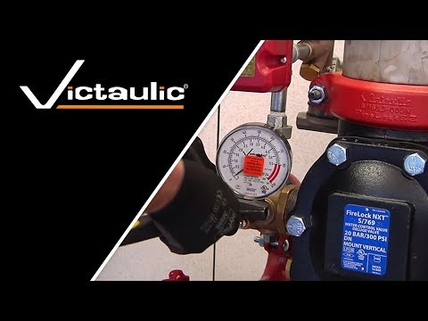 Victaulic FireLock NXT™ Series 769 Preaction Valve & Pipe Installation