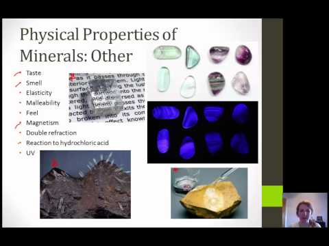 Lesson 3 Minerals and Matter Lecture
