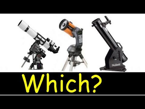 Which telescope to buy? - YouTube