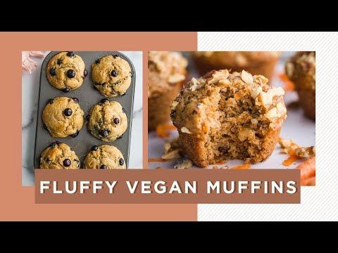 EASY Vegan MuffinsFOUR WAYS!