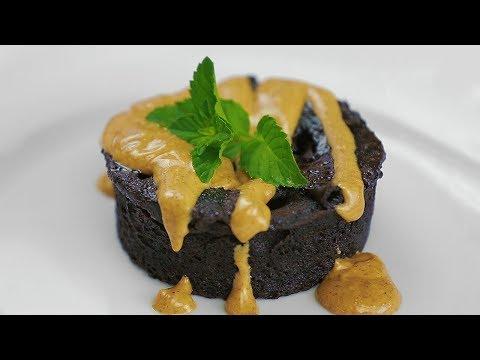 Flourless Chocolate-Almond Butter Cake