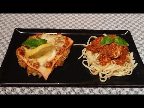 recette-escalope-de-veau-à-la-bolognaise,-languine-à-la-bolognaise,-un-vrai-régale-❤️❤️😍🤩
