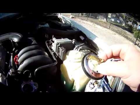 Проблема с охлаждением термостат на примере Mercedes