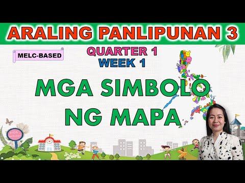 Download ARALING PANLIPUNAN 3    QUARTER 1 WEEK 1   MELC-BASED   MGA SIMBOLO NG MAPA
