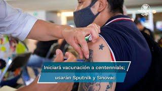 La vacunación comenzará el martes 27 al sábado 31 de julio y se prevé vacunar a 594 mil 602 personas de ese sector de la población y las vacunas que pondrán a los centennials son Sputnik-V y Sinovac