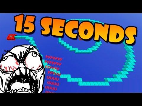 15 SEGUNDOS PARA COMPLETAR LOS PARKOURS!! - 15 Seconds Mapa Minecraft